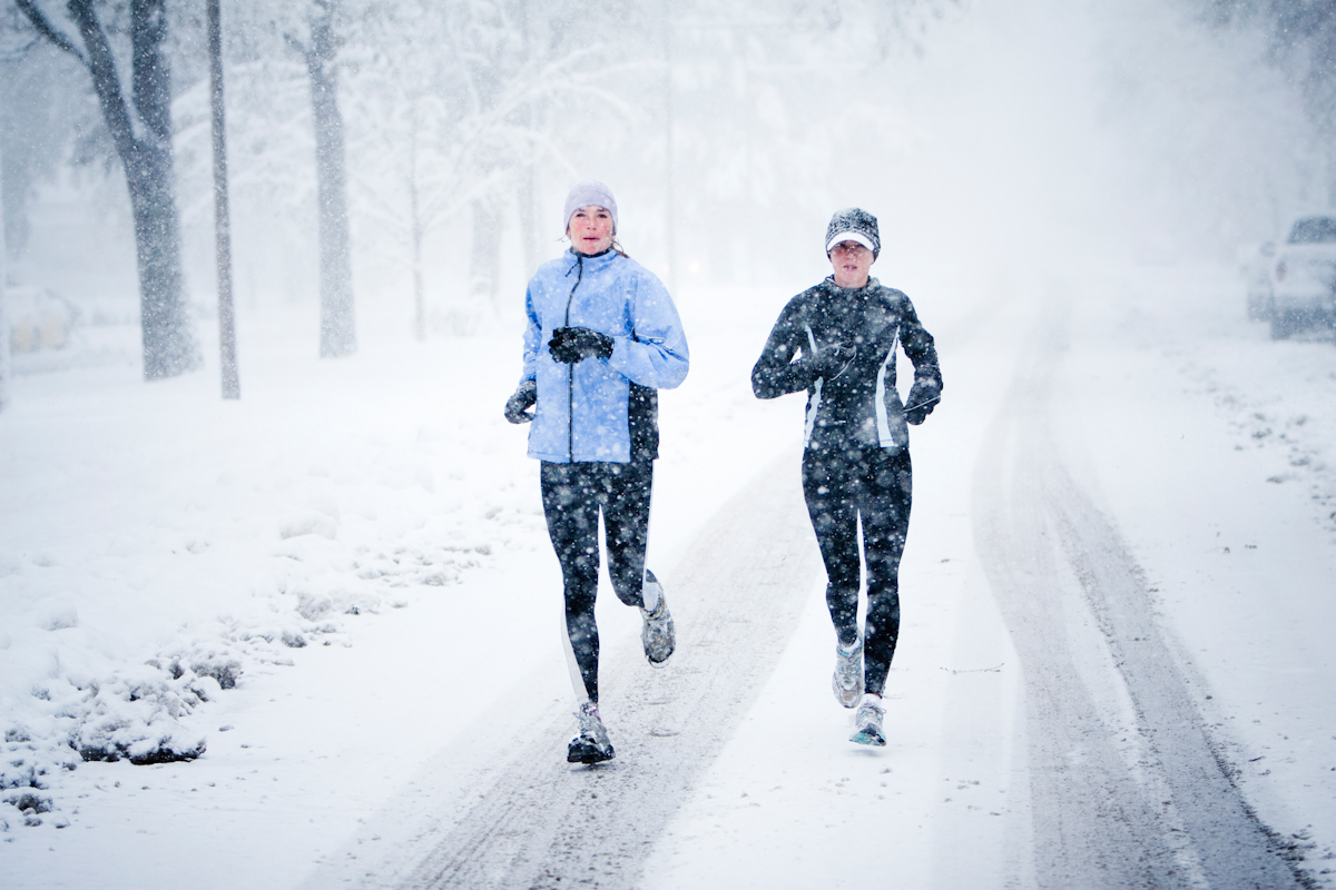 runner to take advantage of winter