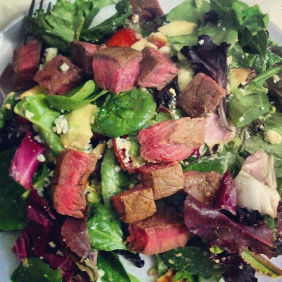 healthy steak salads