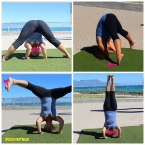 Śīrṣāsana or headstand for beginners  mastering health